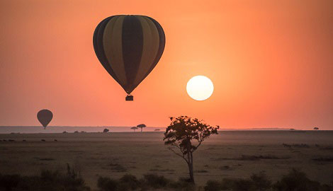 Hot Air Balloon Masai Mara